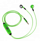 Glow In The Dark Earphones Led Earbuds Luminous Glow Headphones LED Flashing Light Headset Audifonos Bass Headphones With Micr