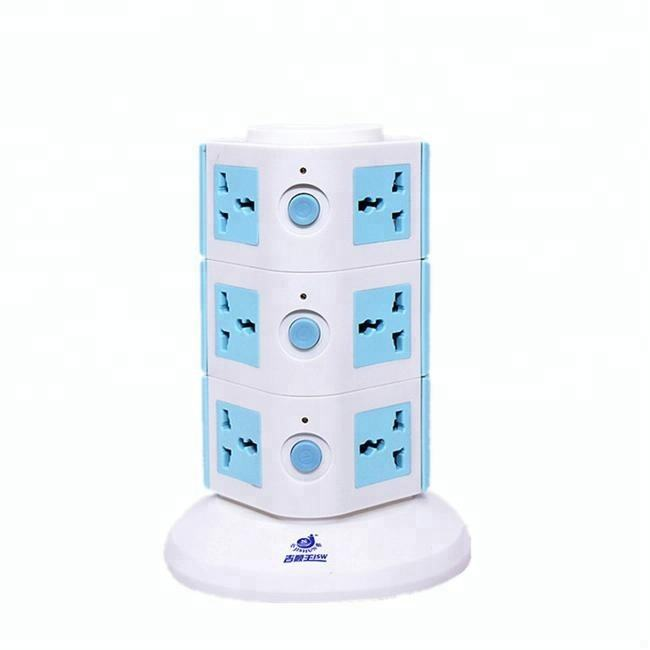 Maleisië elektrische producten 10a universal multi outlet extension socket