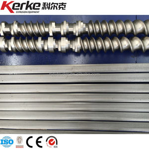 co-rotating twin screw extruder screw and barrel,Manufacturer plans to customize