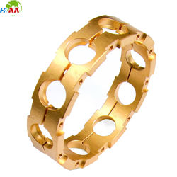 Precision machined ball bearing brass cage,brass bearing cage