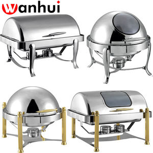 deluxe indian kupfer chafing dishes