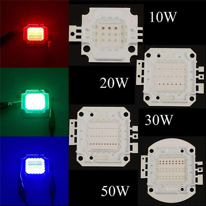 Epiled chips 45mil High power COB LED 60w RGB