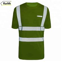 Fully reflective class 3 hi vis safety shirts pink