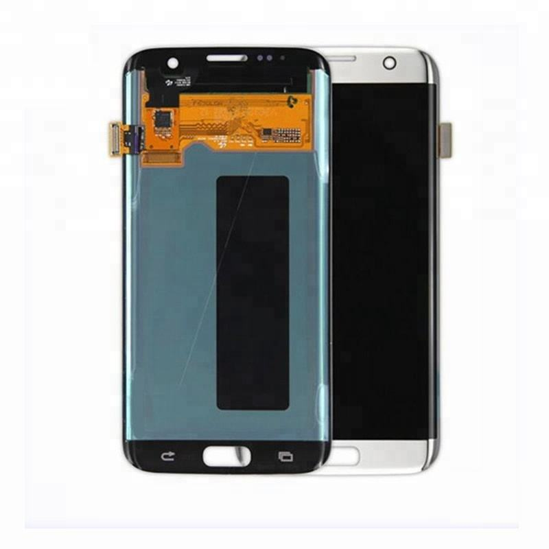 Hot Sell 100% Original New Mobile phone lcd screen for Samsung S7 edge lcd touch screen