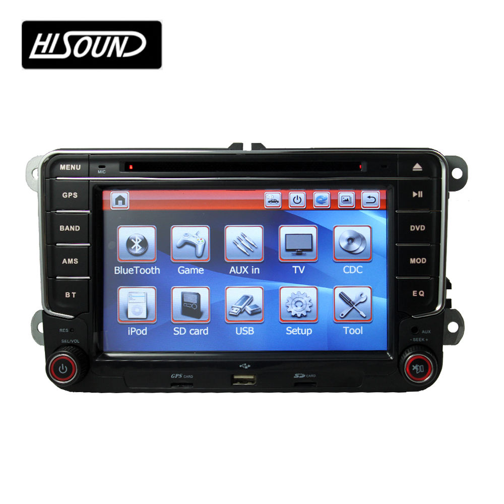 High quality 7inch touch screen 2din gps auto radio vw