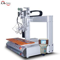 Small double head constant temperature automatic drag soldering machine