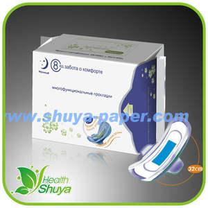 Magnético e ânion & Far IR absorventes higiênicos para as mulheres