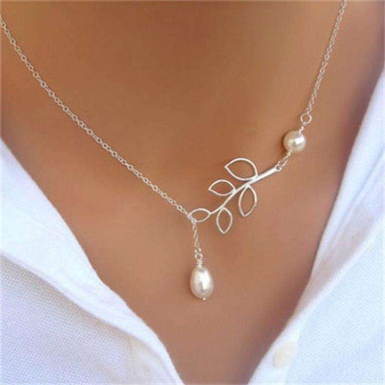 artificial jewelry rani haar designs baroque pearl white pearl pendant necklaces