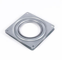 4 Inch Square Bearing Swivel Plate Turntable Swivel Plate Bearing Steel Rotating Swivel Plate Kitchen Cabinets Accessories