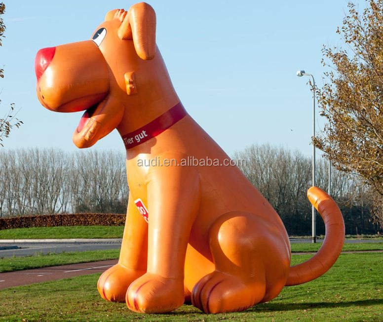 Hot sale advertising inflatable dog for sale