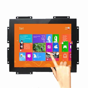 24 inch open frame lcd monitor, open frame all in one pc touch monitor frameloze lcd reclame digital signage display