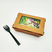 Free Samples Food Packaging Box Food Grade Paper Box With Window