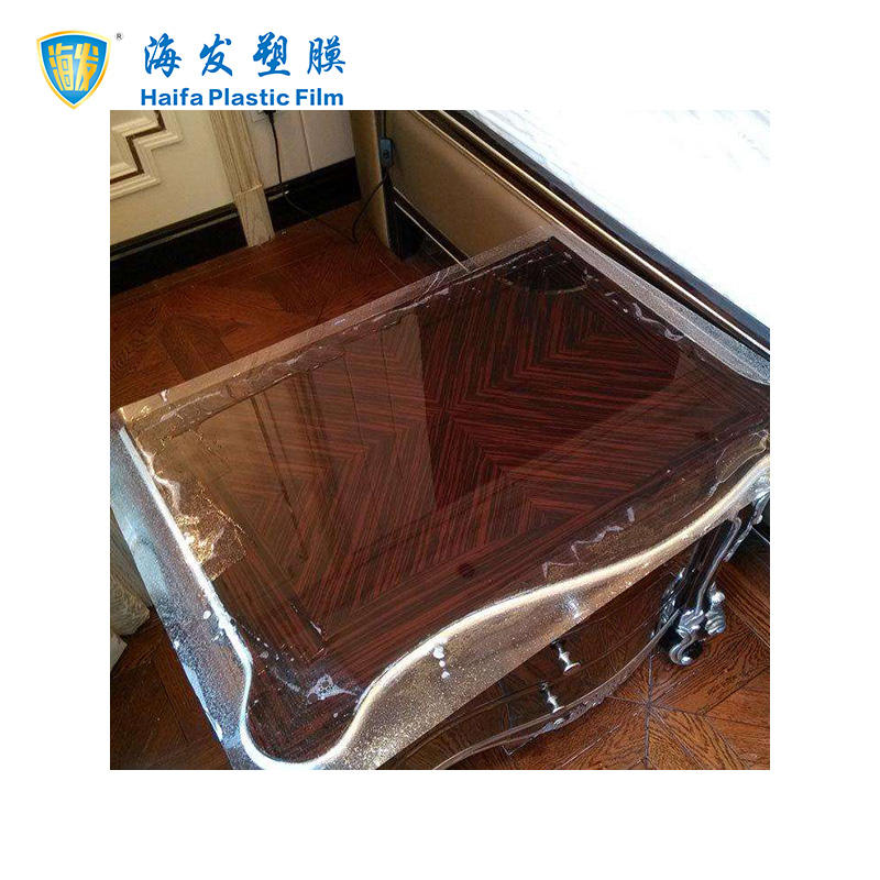 Soft Transparent Protect Film For Furniture and Appliance Surface