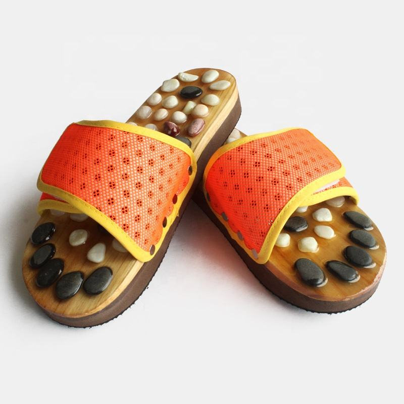 Improve blood circulation massage slippers shoes for women made in china