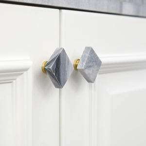 brass marble stone quartz knob cabinet drawer pull and knobs handles furniture