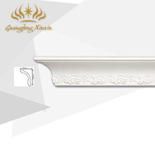 High Quality Polyurethane Cornice Ceiling Decoration Building Material Crown Molding