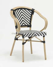 classic design stacking bamboo chairs , outdoor cane chair AS-6156