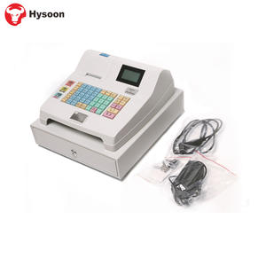 Easy To Use Electronic Cash Register With 3 Position Lock Cash Drawer
