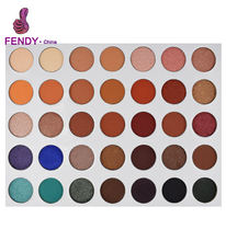 35 Colors Makeup Eyeshadow Palette Natural Nude Matte Shimmer Glitter Pigment Eye Shadow Palette