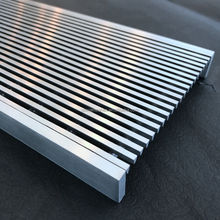 T304 T316 stainless steel water drainage for square or mall
