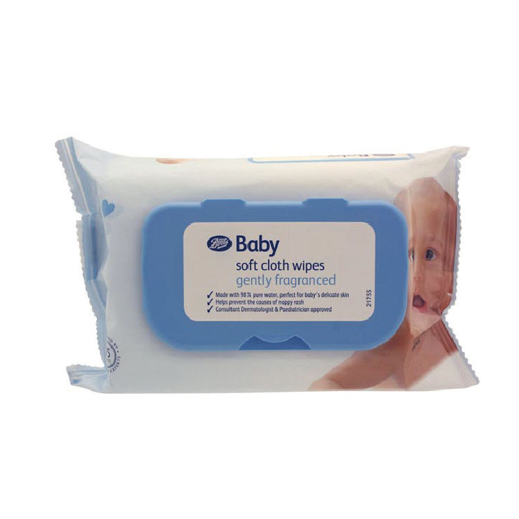 Wet Baby Wipes Organic Baby Wet Tissue