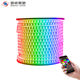waterproof ws2812b wireless wifi high power rgb 220v flexible colour changing led strip light roll