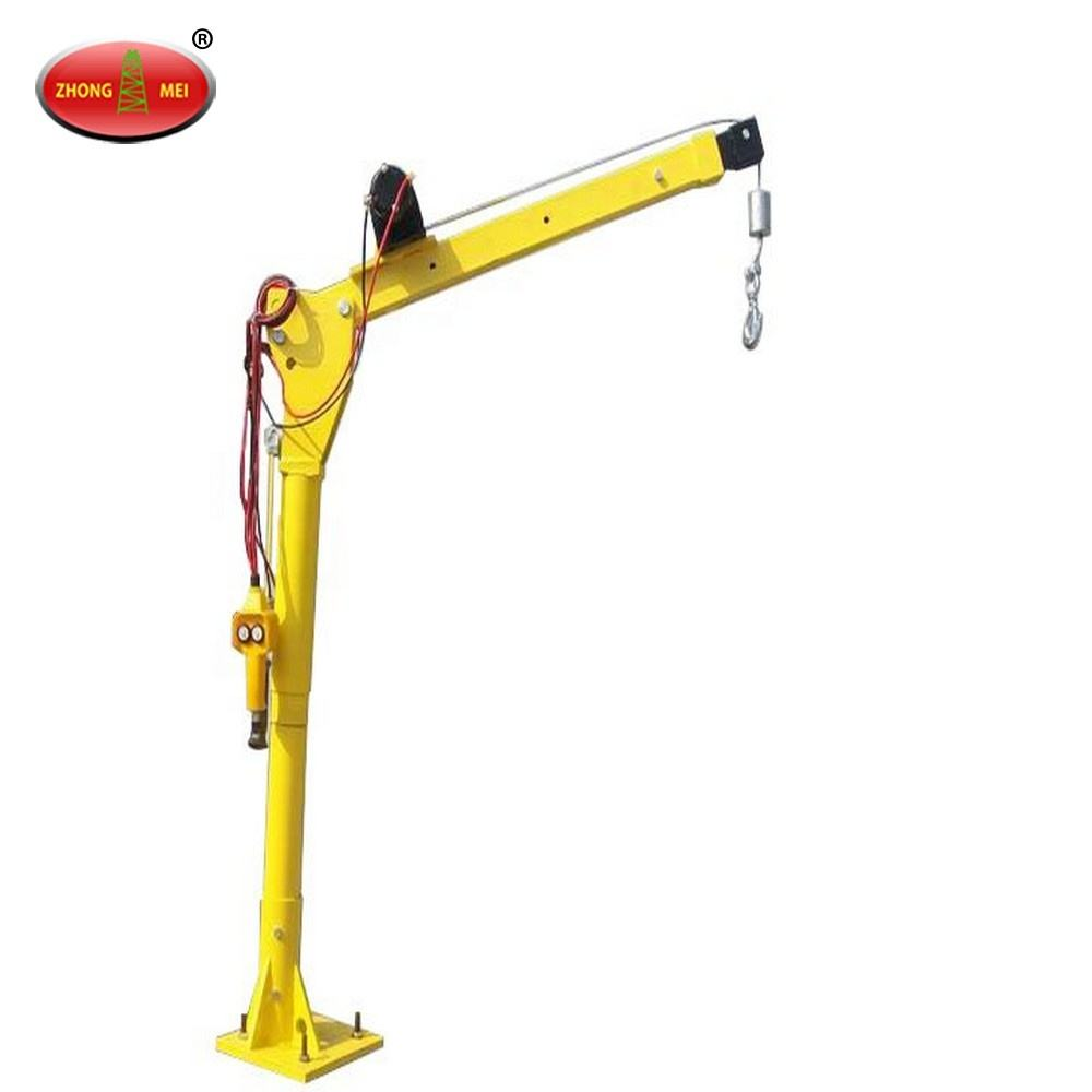 Supply Mini Lifting Hoist Portable 360 Degree 12V Electric Crane