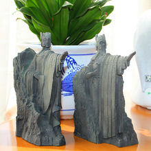 Hobbit The Lord of the Rings The Gates of Gondor Argonath Pair Resin Bookends Figure