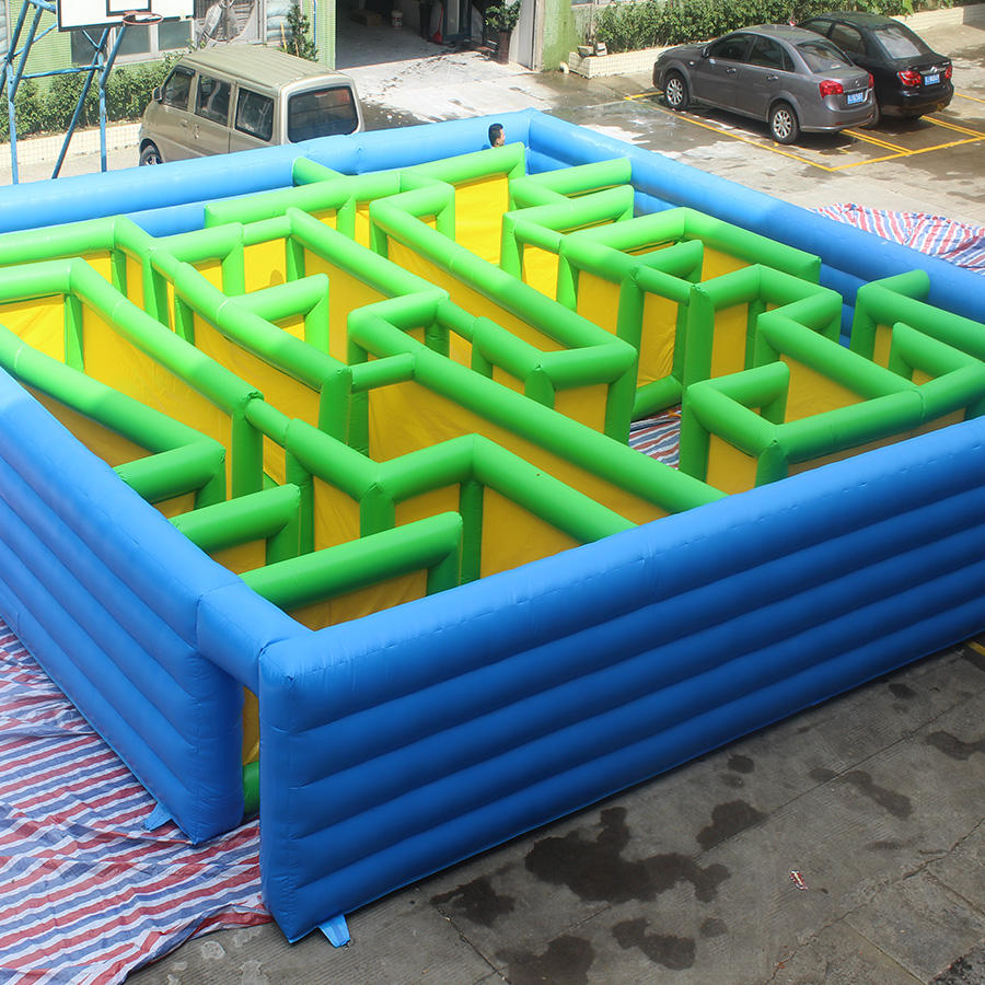 High Quality Inflatable Maze Inflatable Obstacles Games For Outdoor Event