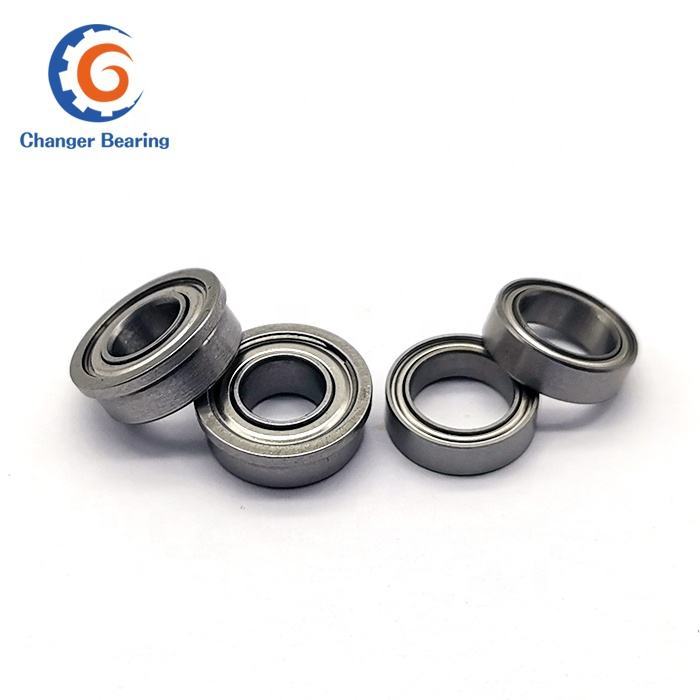 F626 ZZ Chrome Steel Sealed Waterproof Flanged Ball Bearing