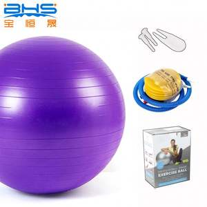 New Design Gym 75cm Custom Logo PVC Wholesale Yoga Ball