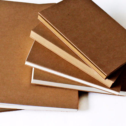 16K Sketchbook, Graffiti, Notebook, brown paper cover, 120 sheets