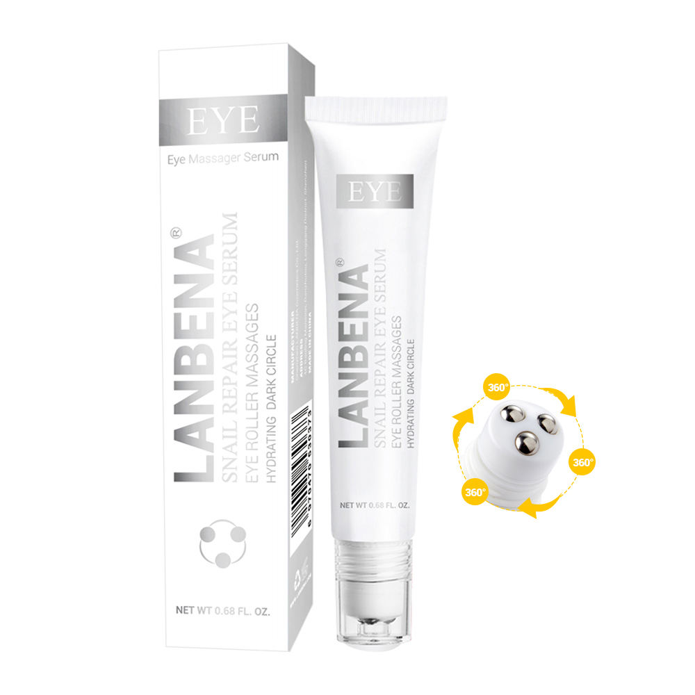 LANBENA eye care beauty dark circle wrinkle removing snail eye Serum