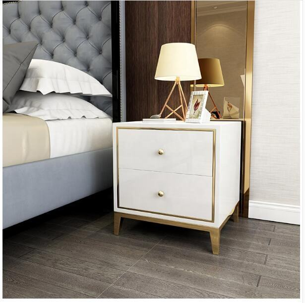 Luxury home furniture night stand bedside table