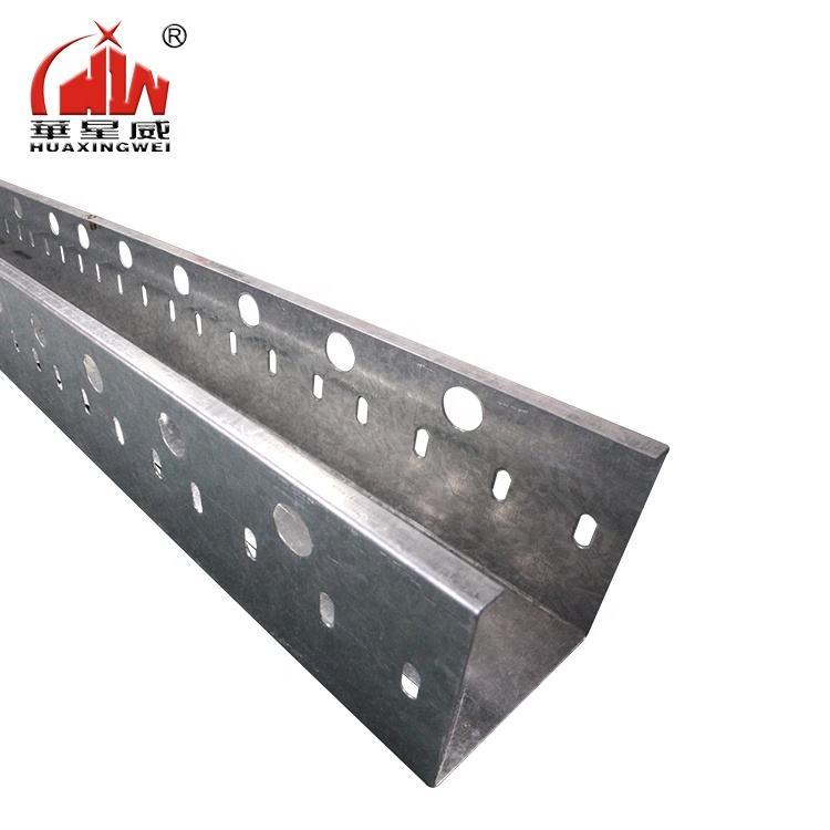 High Quality metal perforated cable tray With Zinc Grade Steel