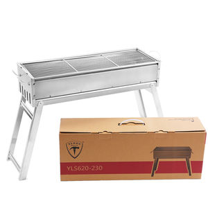 Gratis Monster China Fabricage Draagbare Houtskool Barbecue Bbq Grill Als Camping Kachel Outdoor