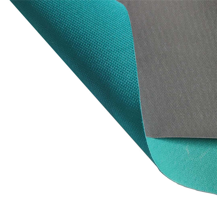 100% polyester waterproof fabric for bags 300d pvc coated oxford fabric bags material