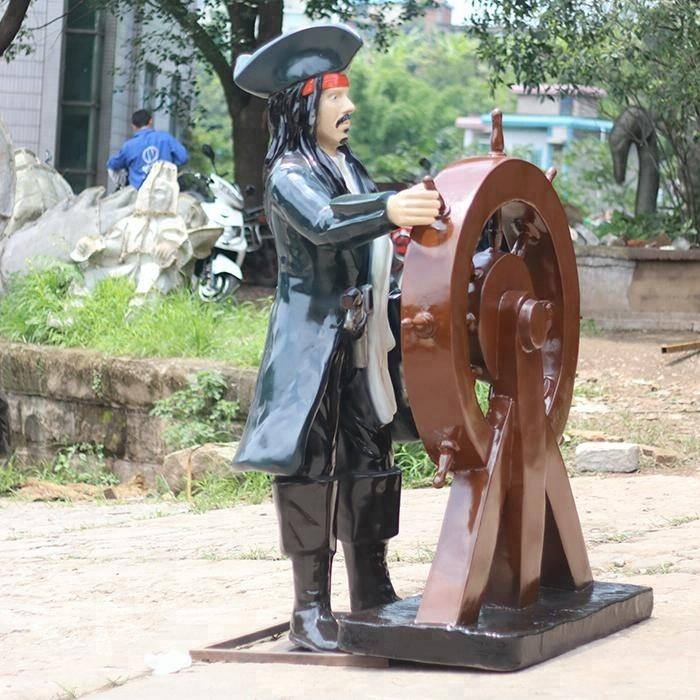 Außendekoration <span class=keywords><strong>fiberglas</strong></span> statue pirate