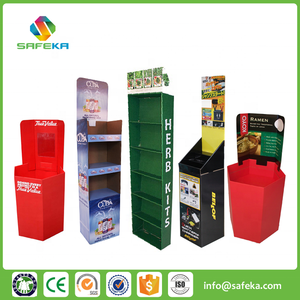 Innovative POP Promotion Pharmacy Drugstore Cardboard dispenser display for health products