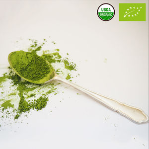 Wholesale Free Sample Organic Instant Matcha Extract Green Tea Powder For Drink