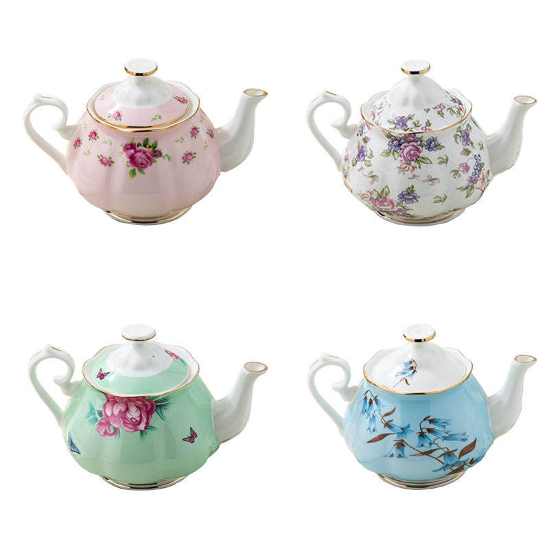 England Popular Fine Bone China TeaPots with infuser