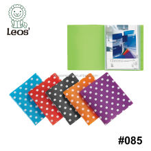 Fashion polka dot file folder for A4 display book
