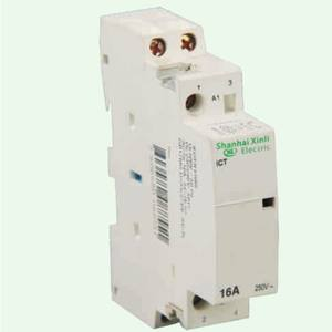 Din Rail New Type ICT Series Household 2 Pole AC Contactor