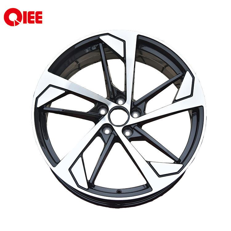 Q957L geschmiedet 20 zoll schwarz abdeckung auto legierung aluminium räder 112*5 für audi