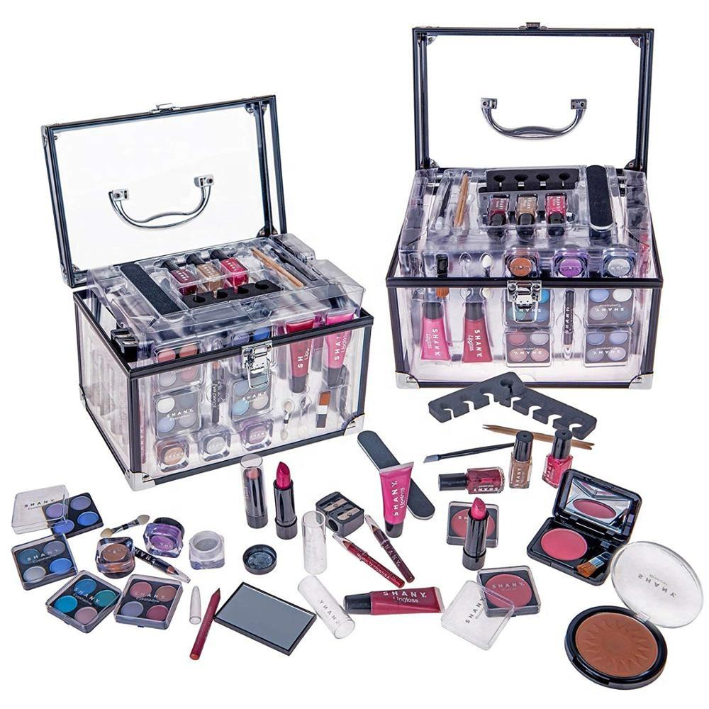 Klaar Om Transparant Acryl Totale Make-Up Kit Cosmetica Set Make Up Kit Voor Vrouwen
