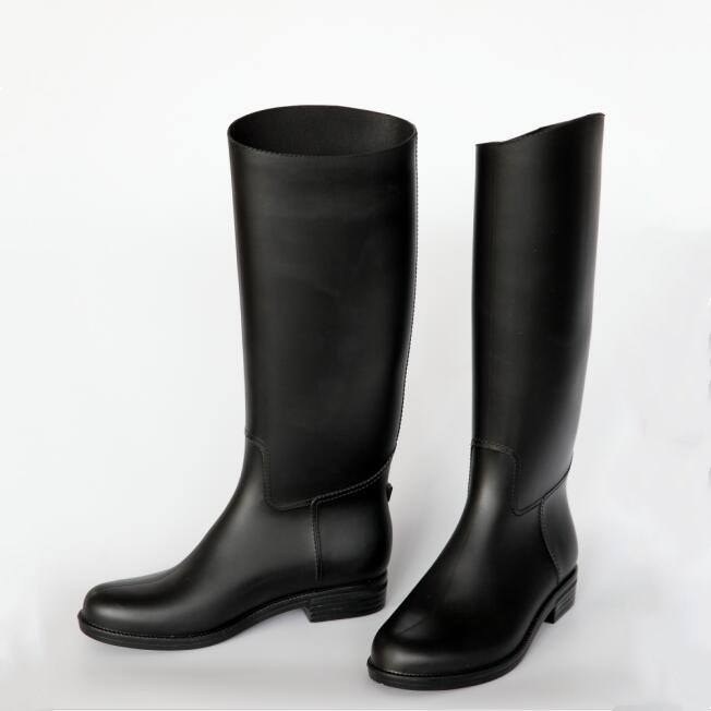 over shoes knee high raining boots pvc