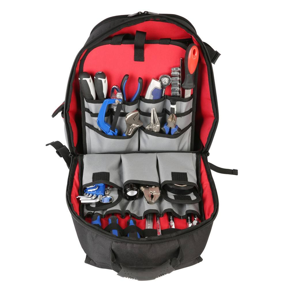 Best Selling Durable Multi Compartment Multipurpose Electricians Backpack Tool Kit Set Bag