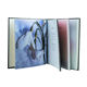 Customized art paper sewn perfect binding hard cover full color book printing