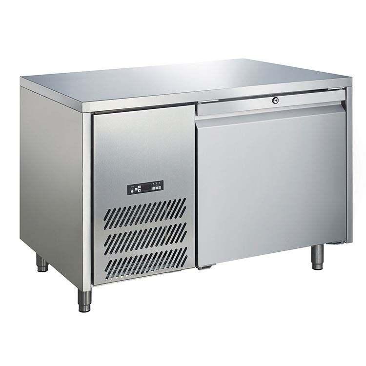 0 ~ 10 gradi sottopiano frigorifero a due porte in acciaio inox congelatore