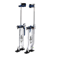 "Drywall Stilts Painters Walking Finishing Tools - Adjustable 24""-40"""" White375144"